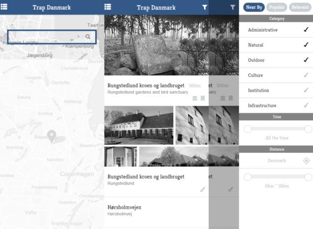 Trap Danmark App Prototype
